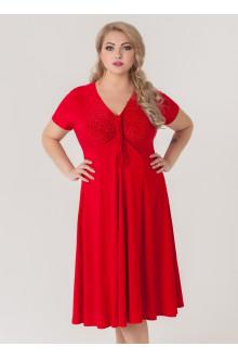 """Платье """"Стразы"""" Sparada (Красный)"""