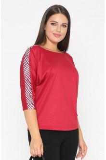 """Блуза """"Лина"""" 4161 (Красный)"""