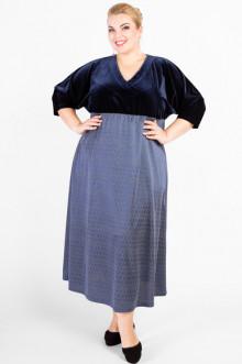 """Платье """"Артесса"""" PP03411DBL05 (Темно-синий)"""
