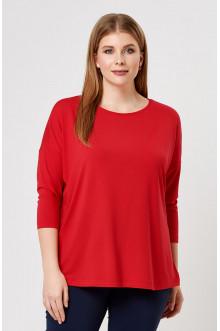 """Блуза """"Лина"""" 41101 (Красный)"""