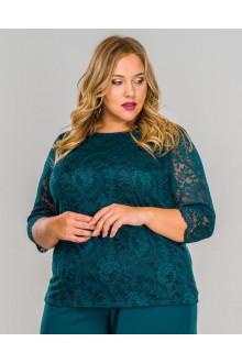 Блуза 152903 ЛаТэ (Изумрудный)