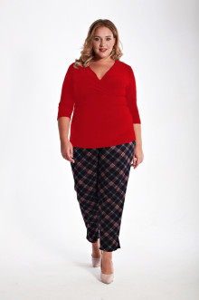 Блуза 1213104 ЛаТэ (Красный)