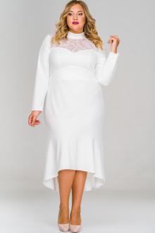 Платье 1516605 ЛаТэ (Белый)