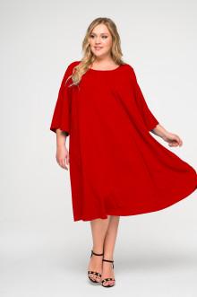 """Платье """"ЛаТэ"""" 1620404 (Красный)"""