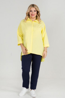 Рубашка 870 Luxury Plus (Желтый)