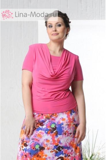 """Блуза """"Качели-2"""" Лина (Розовый)"""